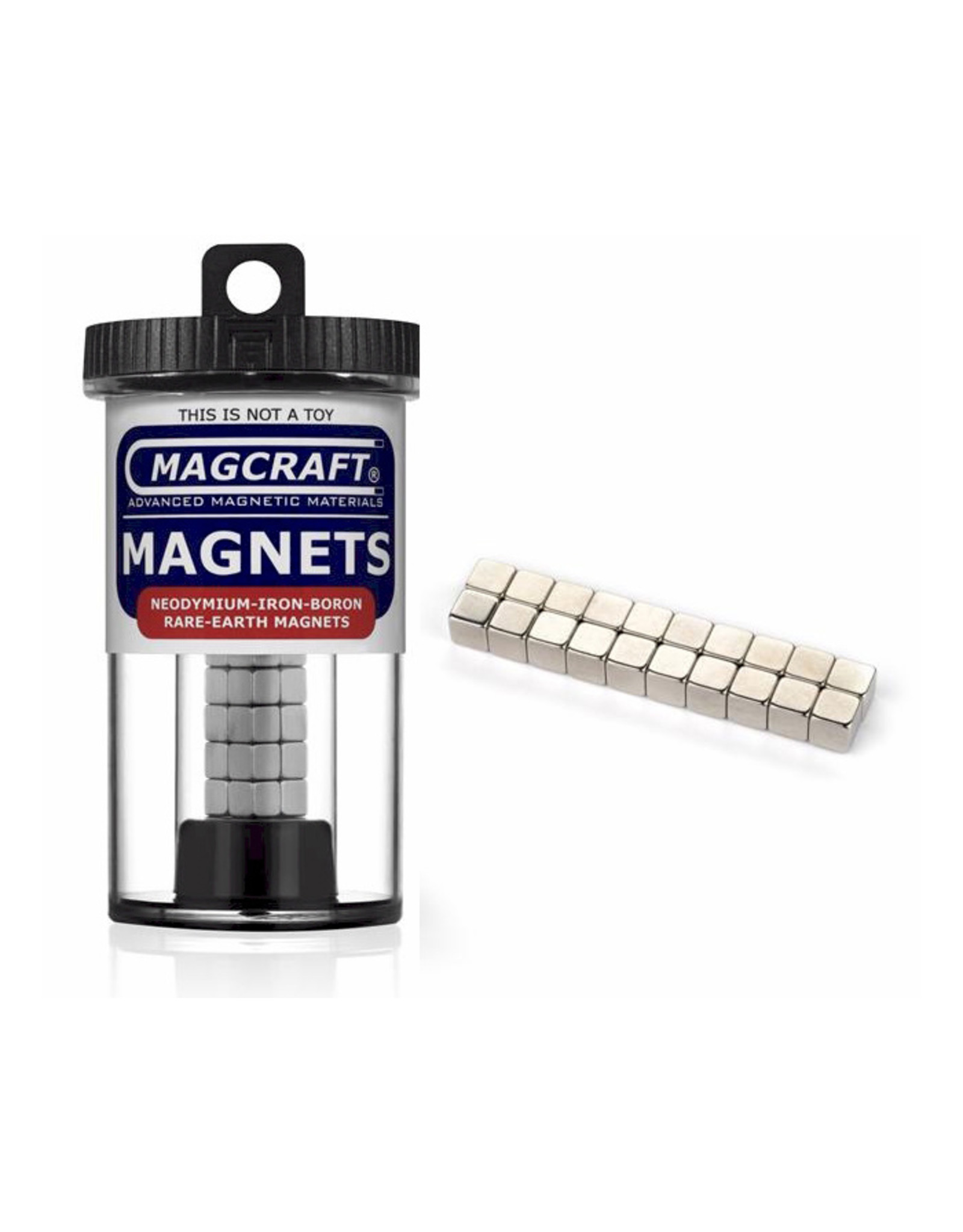 """Magcraft NSN0606 - Cube 0.25"""" x 0.25"""" (20 Count)"""