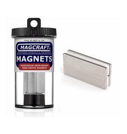 Magcraft NSN0635 - Block 2' 'x 0.5'' x 0.125'' (4 Count)