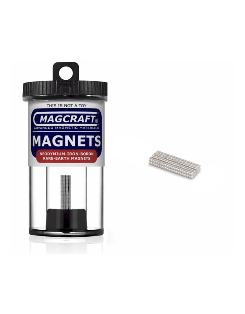 "Magcraft NSN0591 - Disc 0.063"" x 0.031"" (200 Count)"