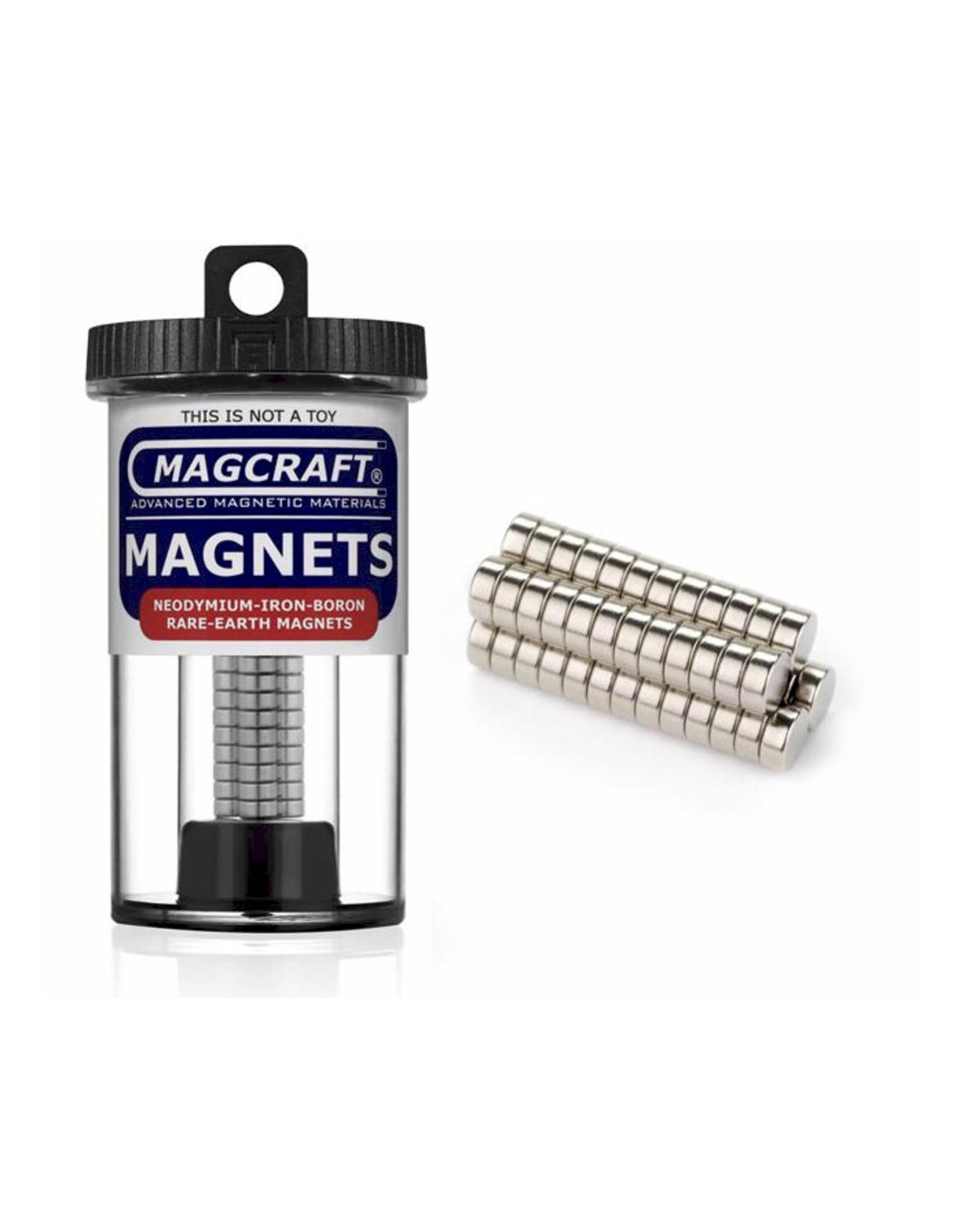 "Magcraft NSN0601 - Disc 0.25'' x 0.1"" (50 Count)"