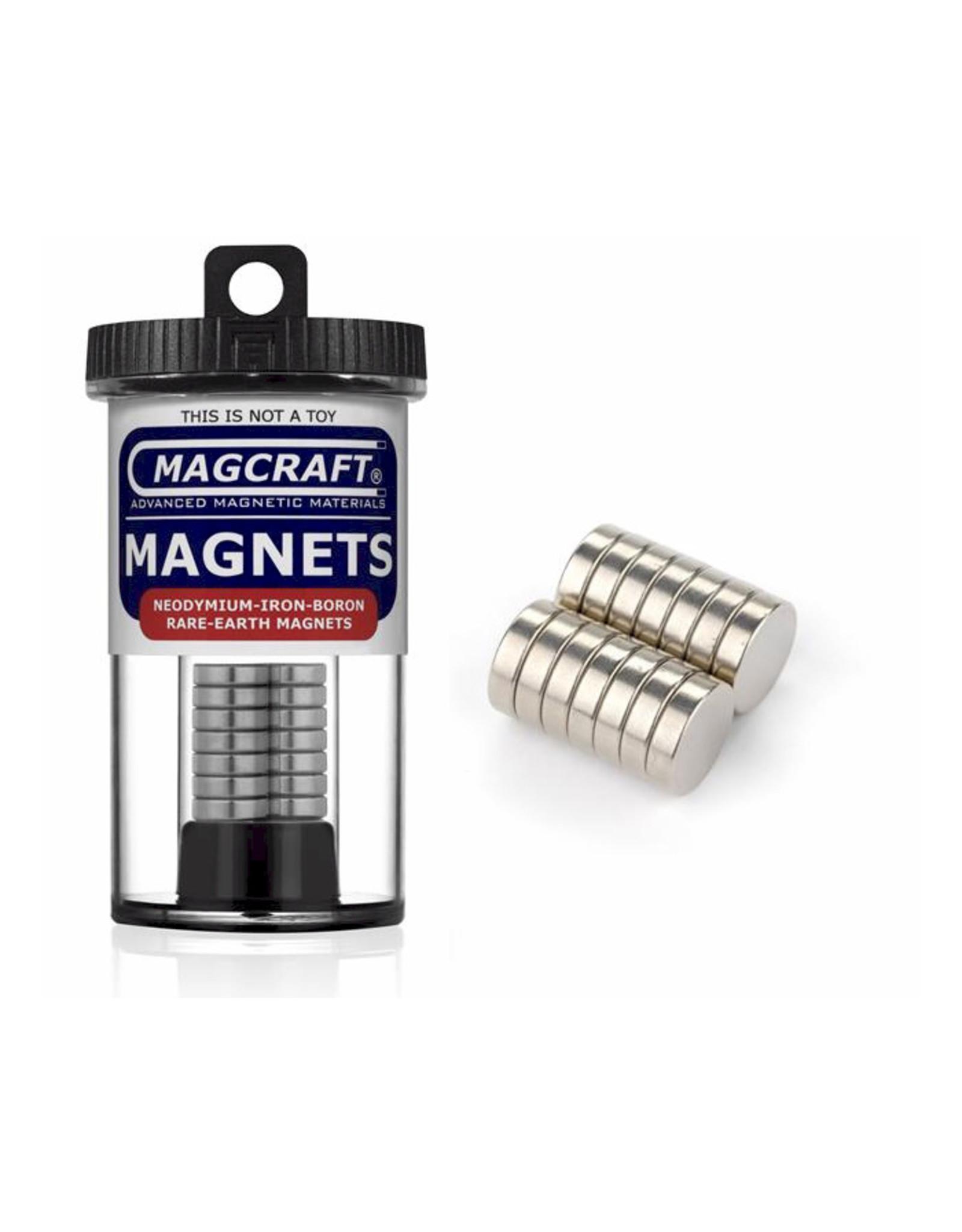 "Magcraft NSN0802 - Disc 0.5"" x 0.125"" (14 Count)"