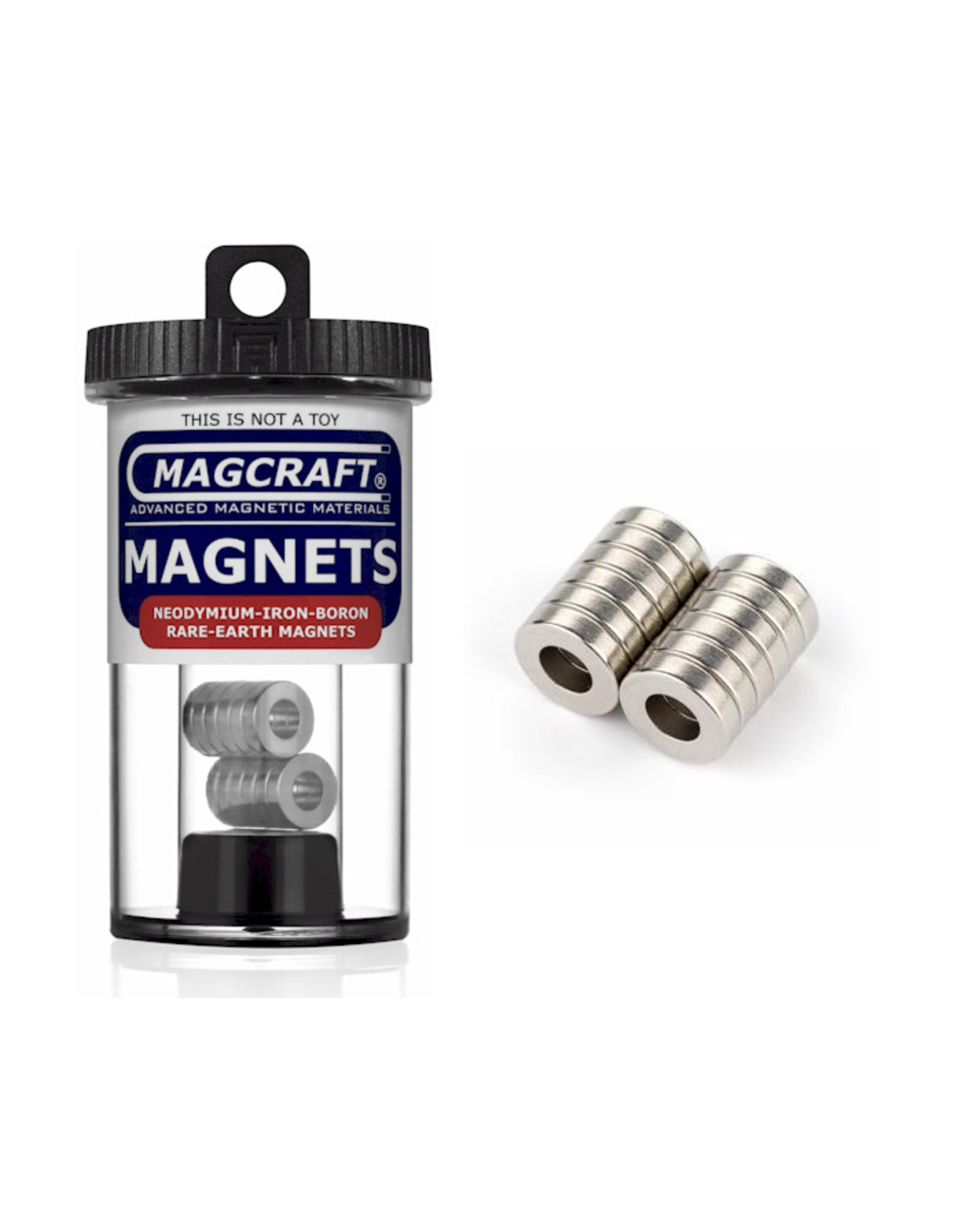"""Magcraft NSN0814 - Ring 0.5"""" x 0.25"""" (12 Count)"""