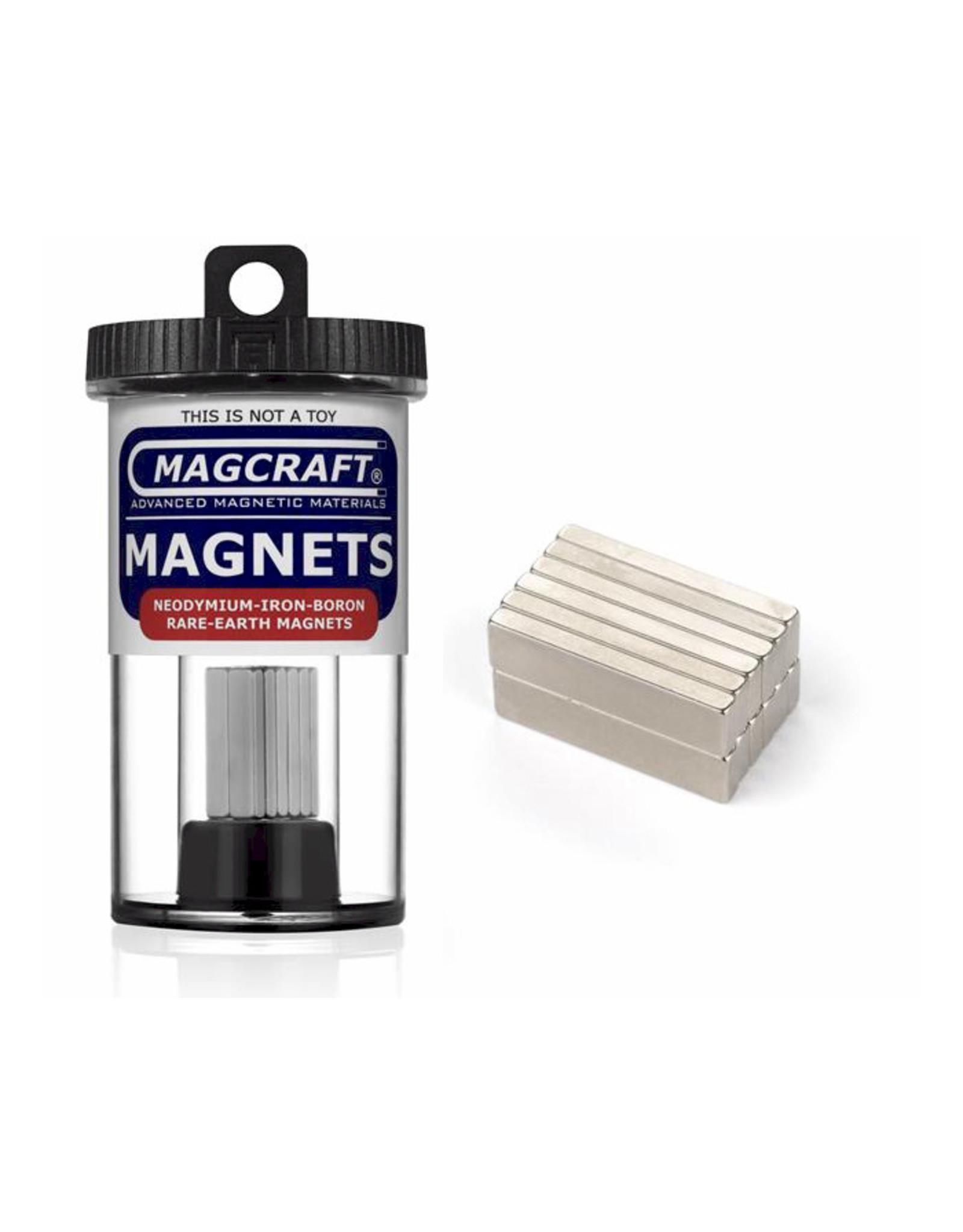 "Magcraft NSN0834 - Block 1"" x 0.25"" x 0.1"" (12 Count)"