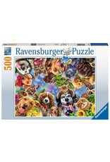 Ravensburger Funny Animal Selfie - 500 Piece Puzzle