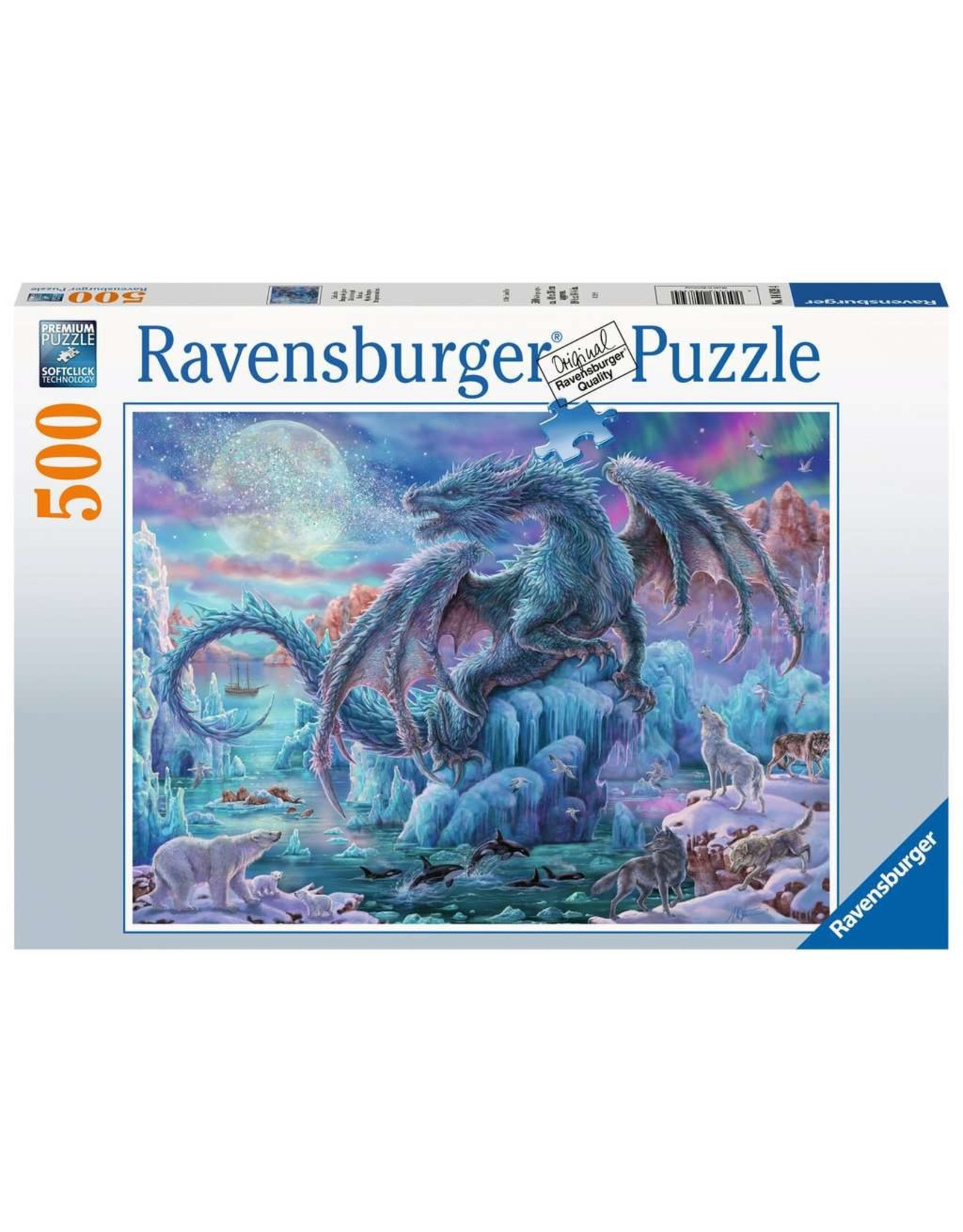 Ravensburger Mystical Dragons - 500 Piece Puzzle
