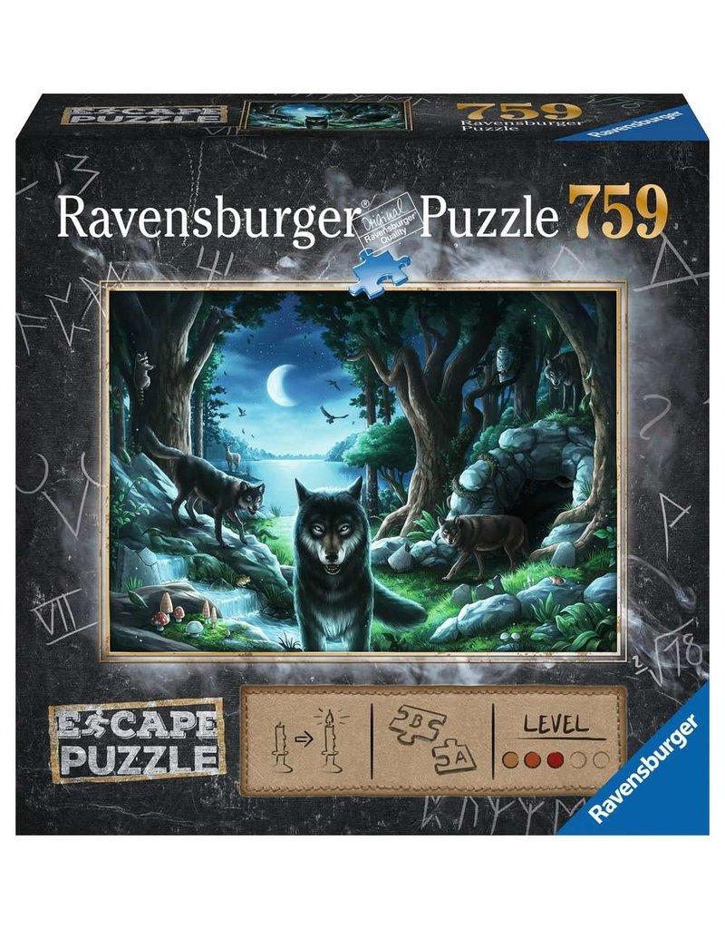 Ravensburger The Curse of the Wolves - 759 Piece Escape Puzzle