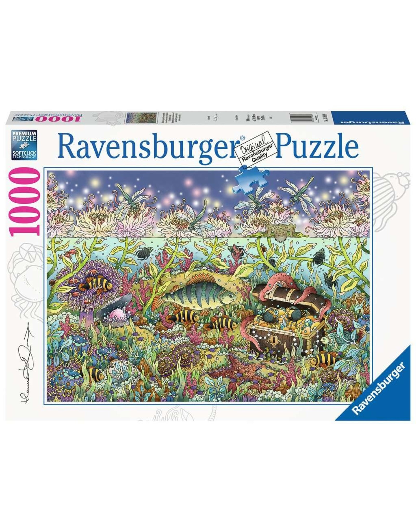 Ravensburger Underwater Kingdom at Dusk - 1000 Piece Puzzle