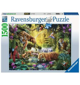 Ravensburger Tranquil Tigers - 1500 Piece Puzzle