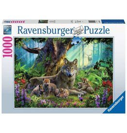Ravensburger Wolves in the Forest - 1000 Piece Puzzle