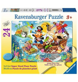 Ravensburger Land Ahoy! - 24 Piece Floor Puzzle