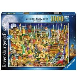 Ravensburger World Landmarks by Night - 1000 Piece Puzzle
