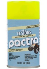 Pactra 303408 - Yellow - RC Lacquer Spray - Fluorescent Finish (3oz)