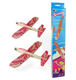Guillows Sunny Twin Pack - Balsa Glider