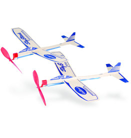 Guillows Sky Streak Twin Pack - Balsa Motorplane