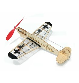 Guillows German Fighter - Balsa Motorplane Mini Model
