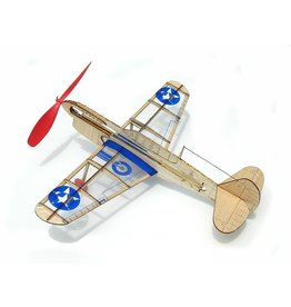 Guillows US Warhawk - Balsa Motorplane Mini Model