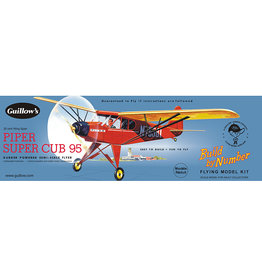 Guillows Piper Super Cub 95 - Balsa Build By Number Plane Kit