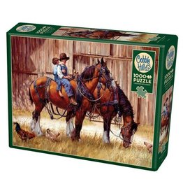 Cobble Hill Back To The Barn - 1000 Piece Puzzle