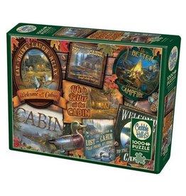 Cobble Hill Cabin Signs - 1000 Piece Puzzle