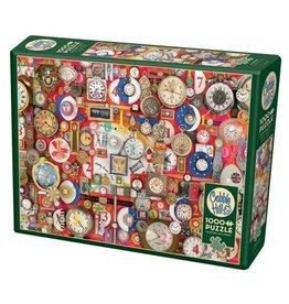 Cobble Hill Timepieces - 1000 Piece Puzzle