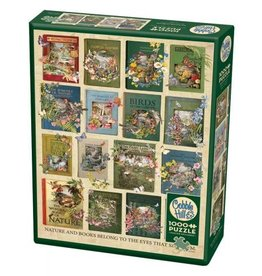 Cobble Hill The Nature of Books - 1000 Piece Puzzle
