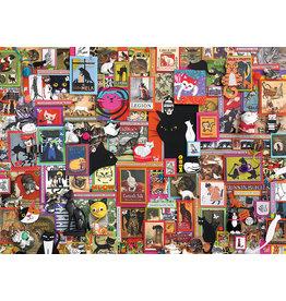 Cobble Hill Catsville - 1000 Piece Puzzle