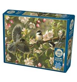 Cobble Hill Chickadeedeedees - 500 Piece Puzzle