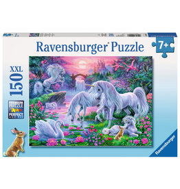 Ravensburger Unicorns in the Sunset Glow - 150 Piece Puzzle