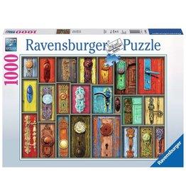Ravensburger Antique Doorknobs - 1000 Piece Puzzle