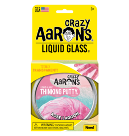 Crazy Aarons 3.2 oz - Rose Lagoon Thinking Putty