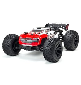 Arrma 1/10 Kraton 4X4 4S BLX Brushless 4WD Speed Monster Truck - Red