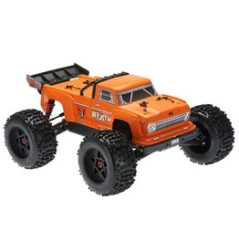 Arrma 1/8 OUTCAST 6S BLX 4WD Brushless Stunt Truck with Spektrum RTR - Orange