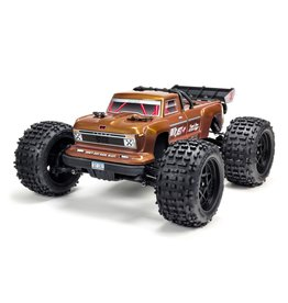 Arrma 1/10 OUTCAST 4x4 4S BLX Brushless Stunt Truck with Spektrum RTR - Bronze