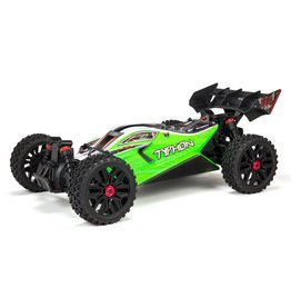 Arrma 1/8 TYPHON MEGA 550 Brushed 4WD Speed Buggy RTR - Green