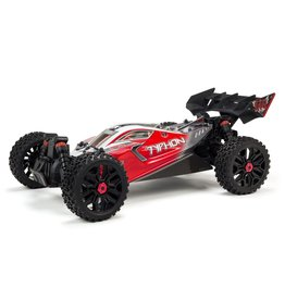 Arrma 1/8 TYPHON 3S BLX 4WD Brushless Buggy with Spektrum RTR - Red