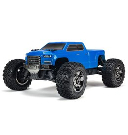 Arrma 1/10 BIG ROCK CREW CAB 3S BLX 4WD Brushless Monster Truck with Spektrum RTR - Blue