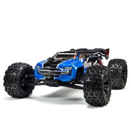 Arrma 1/8 KRATON 6S BLX 4WD Brushless Speed Monster Truck with Spektrum RTR - Blue