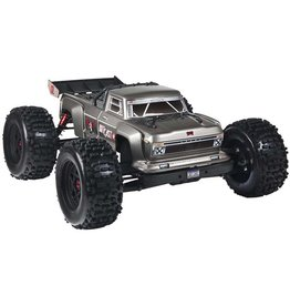 Arrma 1/8 OUTCAST 6S BLX 4WD Brushless Stunt Truck with Spektrum RTR, Silver