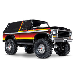 Traxxas TRX-4 1/10 Trail Crawler Truck w/'79 Bronco Ranger XLT Body - Sunset