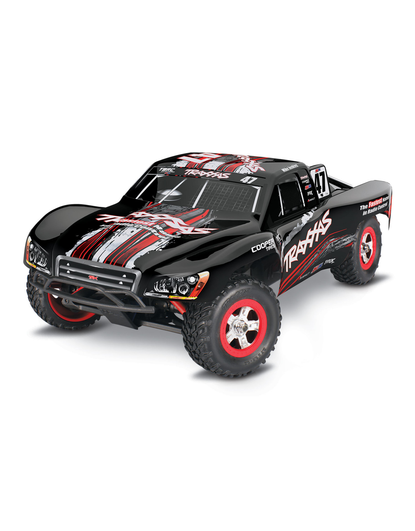 Traxxas 70054 1 1 16 Slash 4wd Short Course Rtr Mike Jenkins Hub Hobby