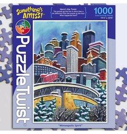 Puzzle Twist Minneapolis Spirit - 1000 Piece Puzzle