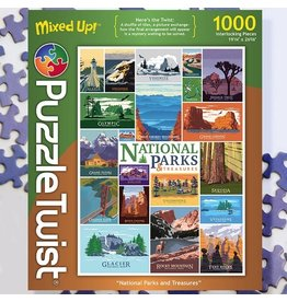 Puzzle Twist National Parks & Treasures - 1000 Piece Puzzle