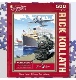 Puzzle Twist Made Here Shipped Everywhere - 500 Puzzle Piece