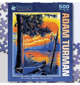 Puzzle Twist Boundary Waters Canoe Area - 500 Piece Puzzle