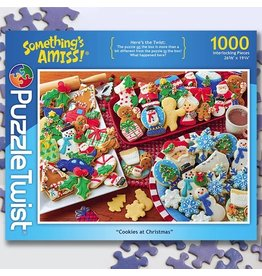 Puzzle Twist Cookies At Christmas - 1000 Piece Puzzle