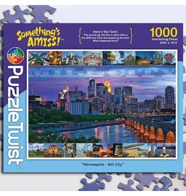 Puzzle Twist Minneapolis Mill City - 1000 Piece Puzzle