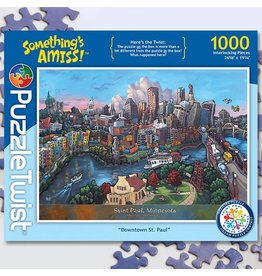 Puzzle Twist Downtown St Paul - 1000 Piece Puzzle