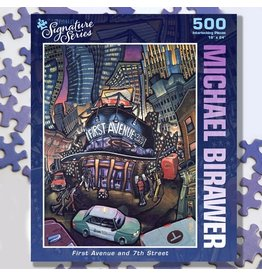 Puzzle Twist First Avenue and 7th Street - 500 Piece Puzzle
