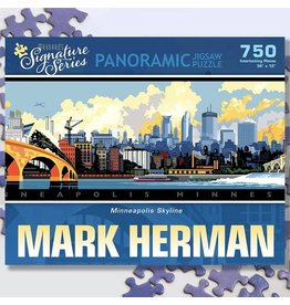 Puzzle Twist Minneapolis Skyline - 750 Piece Puzzle