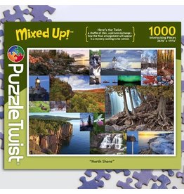 Puzzle Twist North Shore - 1000 Piece Puzzle